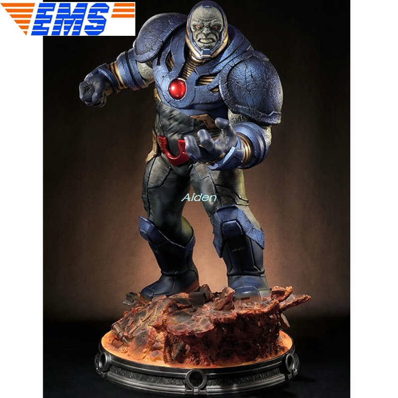 "Superman de 26 "", s Pal. Figura de acción de Jimmy Olsen, estatua de Megamind, busto completo de Uxas, retrato PF Darkseid GK, caja de juguete de 66CM, B1044"
