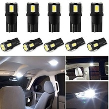 10x W5W LED T10 LED Interior Car Lights For Opel Astra H J G Corsa D C Insignia Vectra B Zafira Mokka Meriva leds for auto 12V