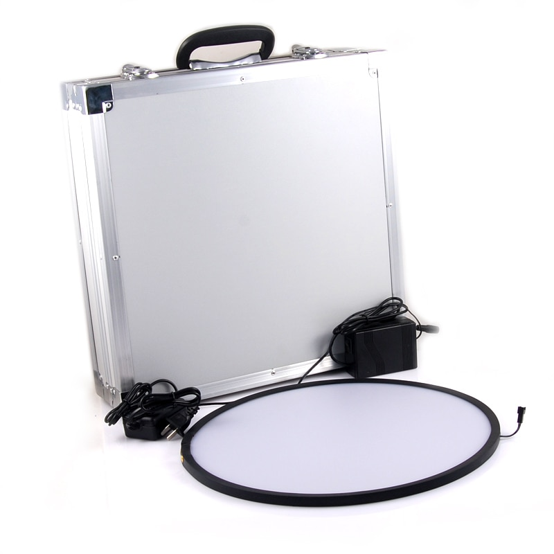 Hércules Flatfield panel D325mm con 12V inversor W ND0.6 filtro