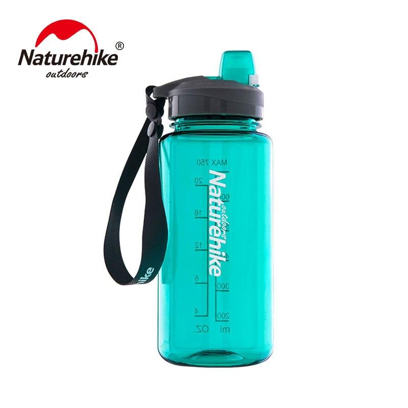 Naturehike, botella de agua para acampar al aire libre, botella de agua portátil ultraliviana para deportes, senderismo, viajes, montar en bicicleta