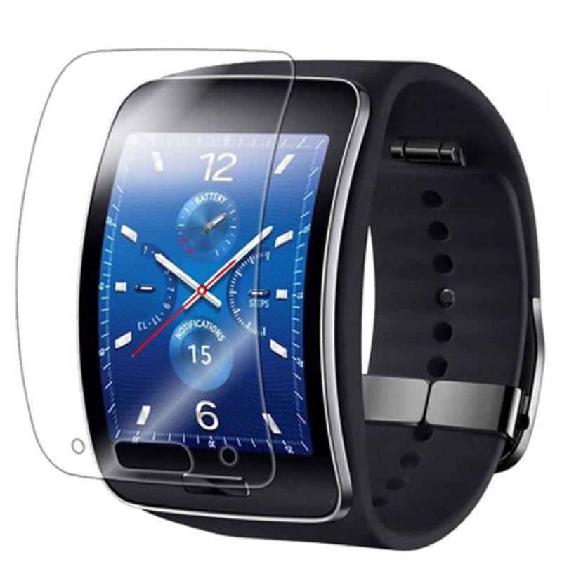 5pcs Anti-choque suave TPU Ultra HD claro película protectora para Samsung Galaxy Gear S R750 Pantalla Completa Protector de pantalla