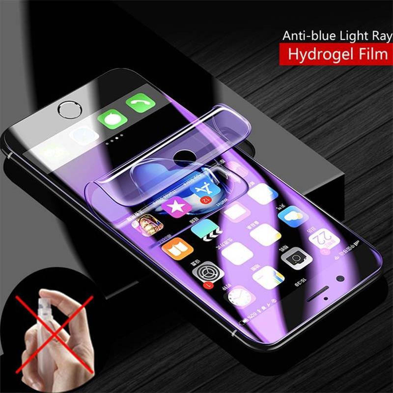Full Coverage For Huawei Honor 7X Anti-blue Light Ray HD Soft TPU Hydrogel Film Screen Protector For