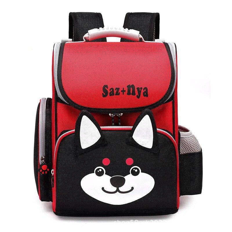 2019 School Bags Children Backpacks kids Orthopedic School Backpacks Polyester 3D carton school Backpack Boys Mochila Infantil
