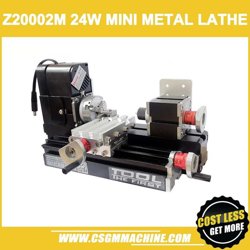Z20002M 24W Metal mini torno/24W,20000rpm máquina de torno de metal didáctico