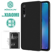 Xiaomi Mi 9 Mi 8 Nillkin Synthetic Fiber Hard Back Cover Case Xiaomi9 Phone Case for Xiaomi Mi8 Mi9 Mi 9 Explorer Nilkin Case