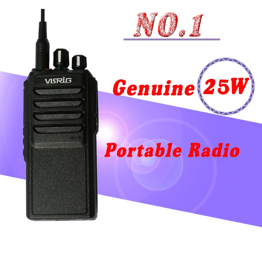 El más nuevo de alta potencia 25W Radio de mano VR-20HX poderoso UHF Walkie Talkie hermana QYT KT-8900 baofeng uv 9r Radio de dos vías