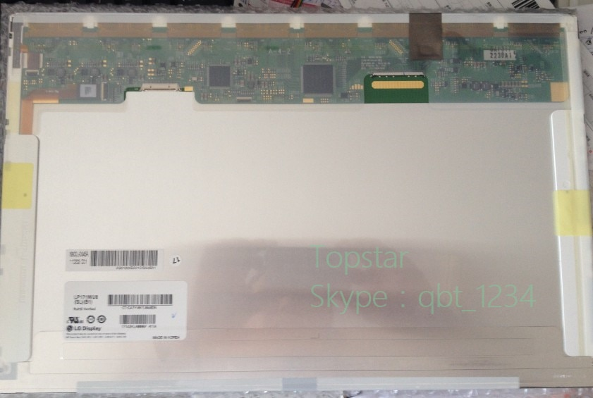 Panel LCD de 17,1 pulgadas para HP 8730W dreamcolor DC1 pantalla LCD LP171WU8-SLB1 LP171WU8 (SL) (B1) LP171WU8 SLB1 un año de garantía