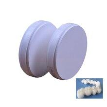 1 pc ST HT OD98 * 18/20/22/25 MM bloc de zircone dentaire système de moulin à came CAD ouvert pour la fabrication de dents en porcelaine blocs de céramique Zirconium