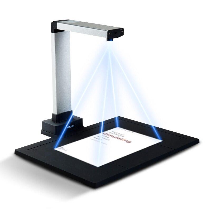 Deli 15151/15152/15153/15155 cámara de alta velocidad de alta resolución Autofocus tamaño A4 escáner rápido 10 millones de píxeles