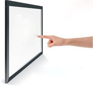"""Driver free 4 puntos 55 """"IR marco táctil/panel de pantalla táctil para mesa táctil"""
