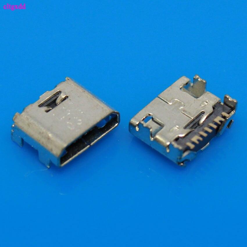 10 pçs novo 7 pinos 7pin mini micro usb carregamento de carga jack conector tomada doca porto para samsung i9082 i9080 i879 i8552 i869