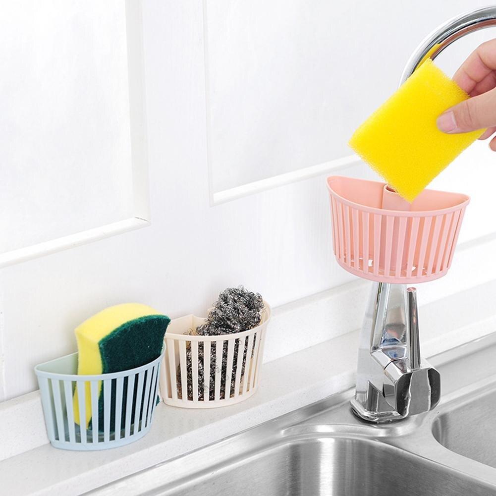 Cesta de drenaje multifunción, soporte para esponja de cocina ecológica, caja de jabón, detergente, almacenamiento, escurridor, cesta, organizador de baño