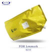 Copieur pièces de rechange 1 pcs 1 KG poudre de Toner noir pour Lexmark E 210 compatible imprimante fournitures E210 E-210