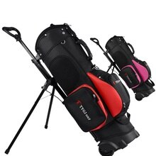 Golf Reisetasche Räder Golf Rack Stativ Rucksack Tasche 11-Stück Clubs Standard Ball Reise Trolley Taschen A7086