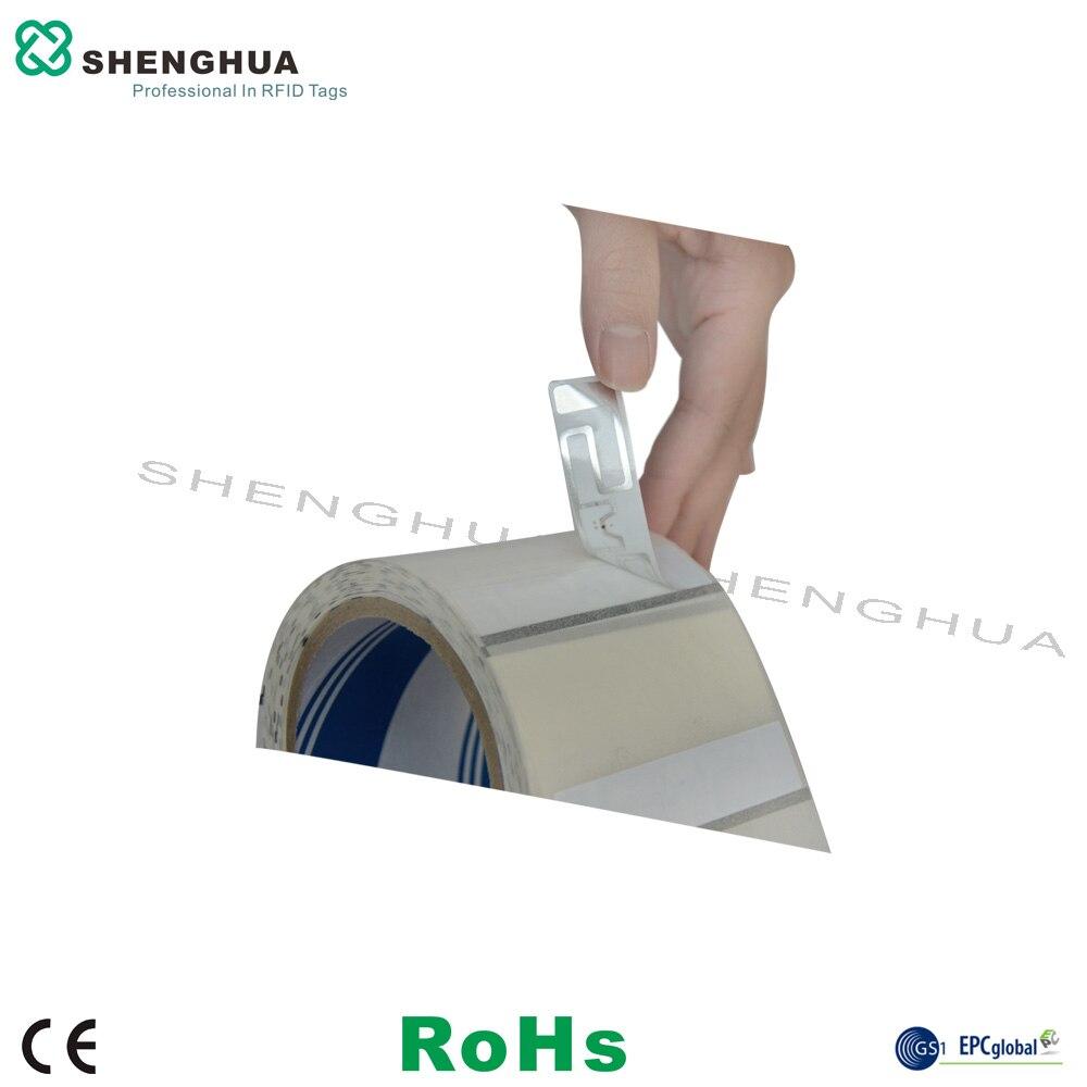 1000 pcs/roll Passiva RFID 860-960 mhz Etiqueta de Papel Tag Etiquetas Descartáveis de Baixo Custo para a Logística de Rastreamento