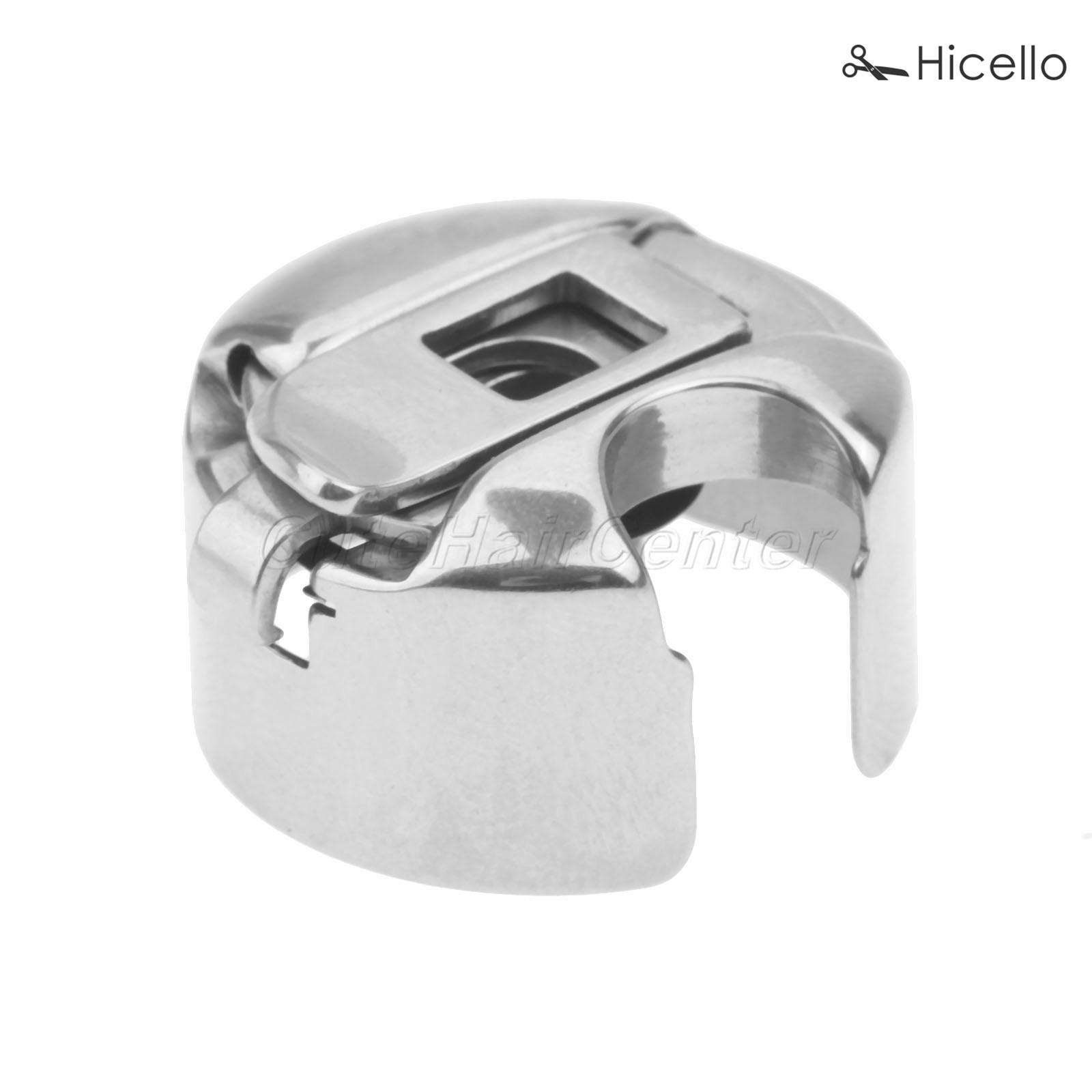 Industrial Sewing Machine Bobbin Case Steel Silver 1/8 for lockstitch Brother/SINGER/PFAFF/JUKI/WINSEW/PROSEW machine Hicello