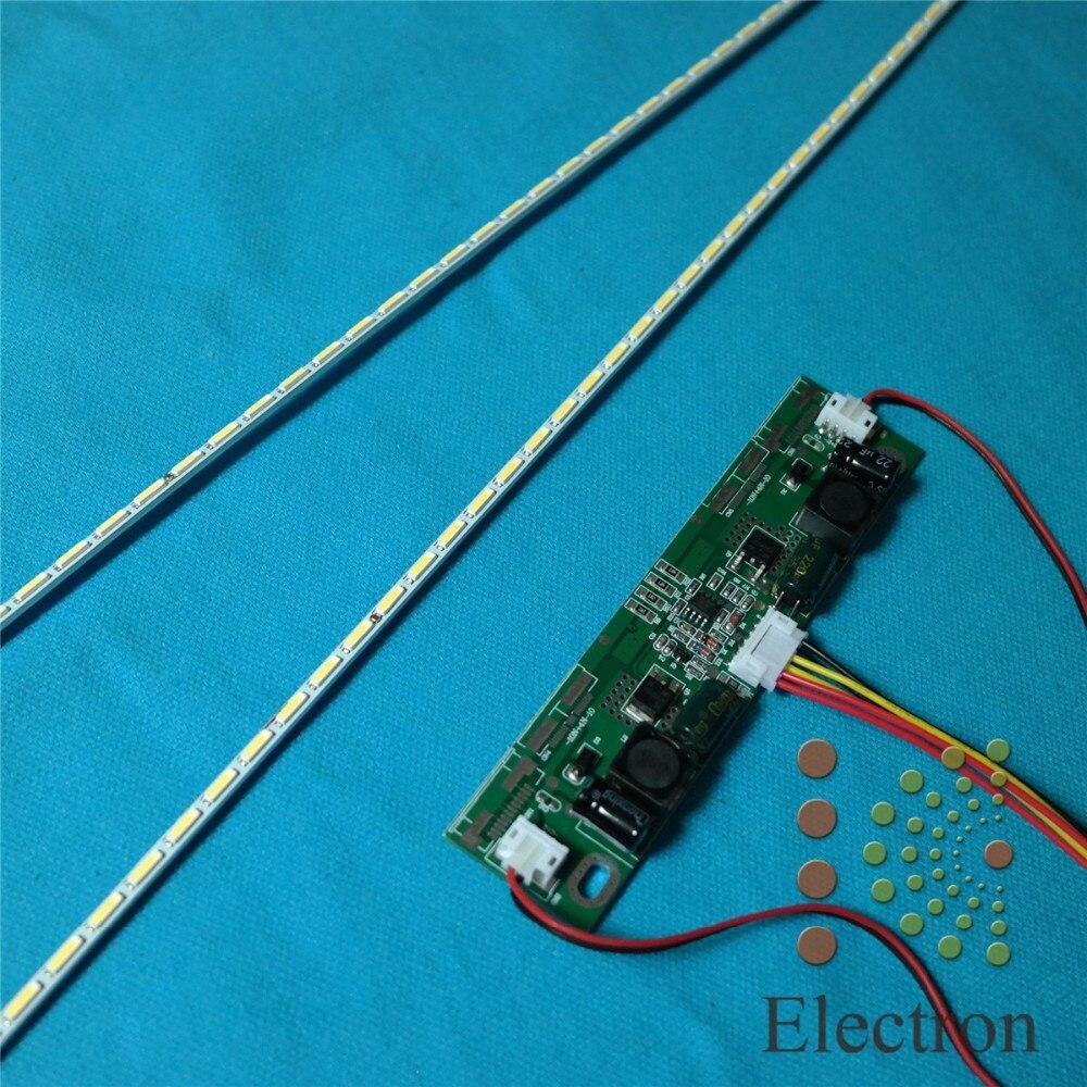 Светодиодная подсветка 544 мм, обновленный набор ламп с алюминиевой пластиной, инвертор 26 ''-65'' для 49 дюймового ЖК-монитора, ТВ-панели, высокий свет