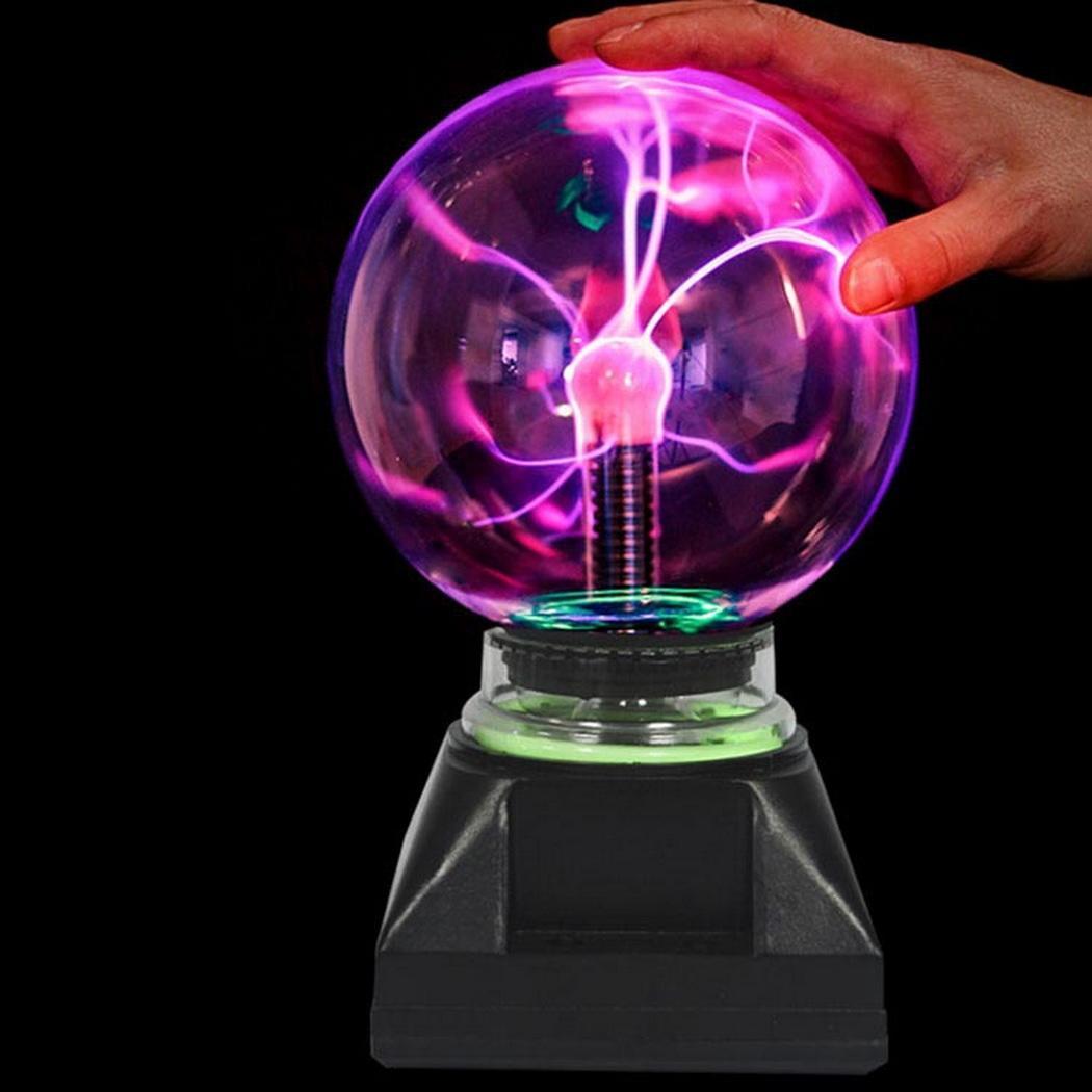 Bola de Plasma iluminador bola Electro-óptica luz nocturna 420g juguete 10 cm/3,9 pulgadas DIY regalos moda diaria