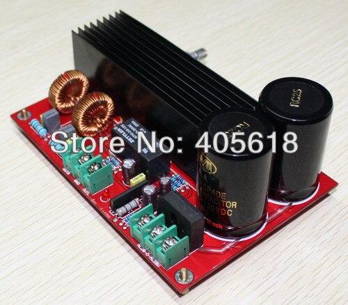 TDA8954 210W + 210W ESTÉREO Amp Digital Clase D Placa de amplificador con protección de altavoz y 2 uds NOVER 10000 UF/50 V CAPS