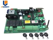 Carte de commande automatique de porte doscillation de cc 24V con 4 transmetteurs