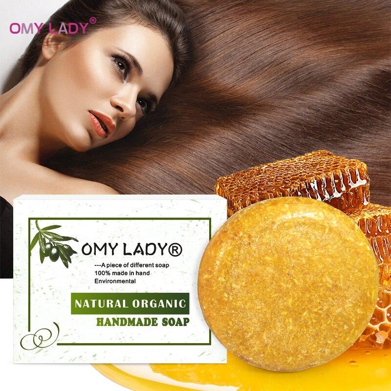 Средство для ухода за волосами OMY LADY, 100% чистое натуральное ручной работы, медовый экстракт, эфирное масло, для холодной обработки волос, против перхоти