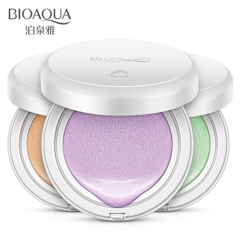 BIOAQUA Thin Air Cushion Primer BB Cream Moisturizing Concealer Makeup Face Repair Nude Make-up Waterproof Brighten Sunscreen