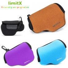 limitX Portable Neoprene Soft Waterproof Inner Camera Case Cover Bag for Panasonic Lumix LX100 II 2 LX100M2 Digital Camera