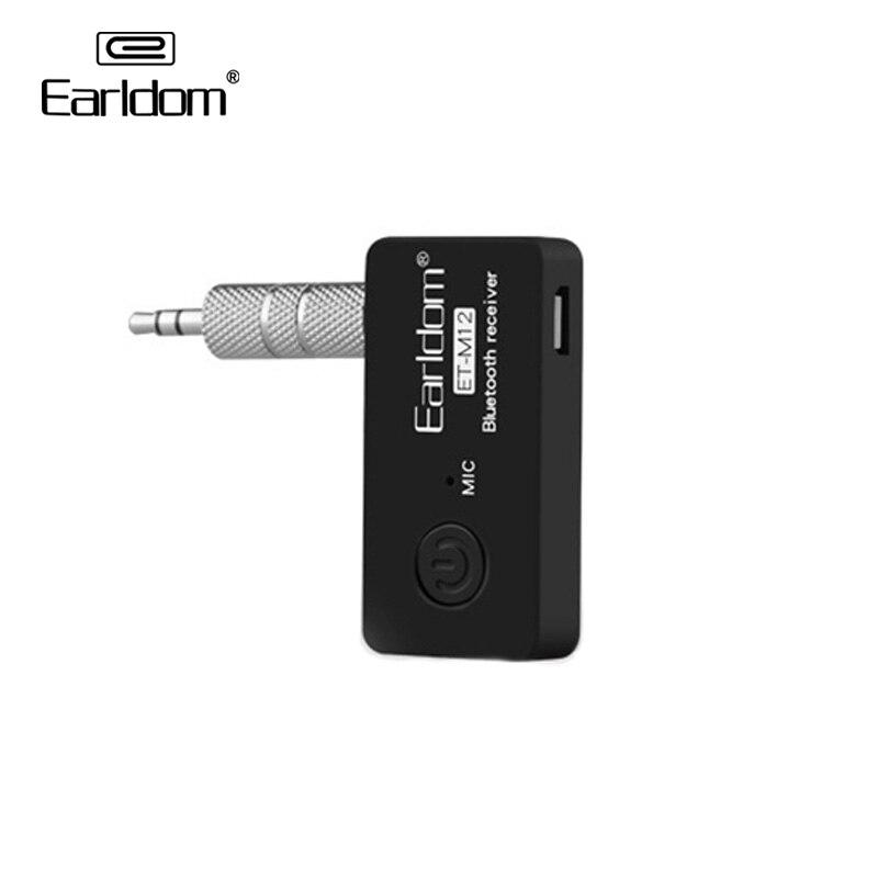 Adaptador receptor Bluetooth Earldom para automóvil a 3,5mm AUX Audio para coche