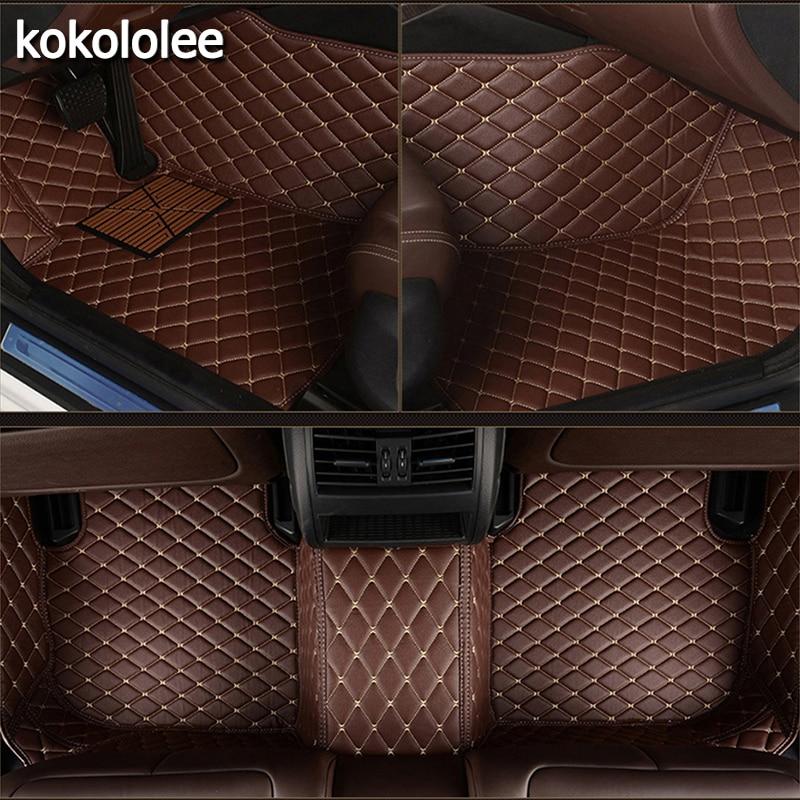 kokololee Custom car floor mats for CHANA all models CS35 Alsvin Benni CX20 CX30 CS15 CS95 CS55 CS75 car styling accessories
