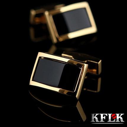 2020 KFLK Luxury shirt cufflinks for mens Brand cuff buttons Gold cuff links gemelos High Quality wedding abotoaduras Jewelry