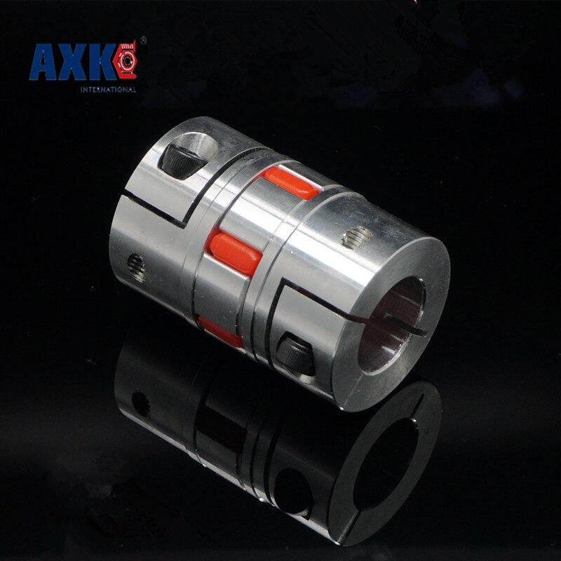 4 unids/lote Cnc Flexible araña mandibular ciruela acoplador del Eje de acoplamiento 4/5/6/6. 35/8/9. 5/10/12mm diámetro 25mm longitud 30mm D25l30