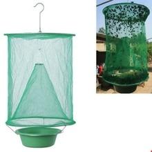 1PCS Pest Control Reusable Hanging Fly Catcher Killer Flies Flytrap Zapper Cage Net trap wasp Garden Home Yard Supplies