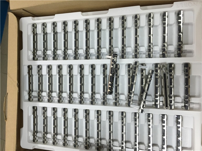 2 uds NOBLE Soundcraft FOLIO-4 mezclador potenciómetro de deslizamiento recto D10K estéreo/Fader D103X2 para behringer 1832