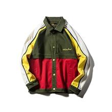 Japan Bomber Jacket Men Streetwear Vintage Anorak Jacket Jamaica Reggae Korean Hip Hop Fashion Street Ropa Retro Hombre 5J38