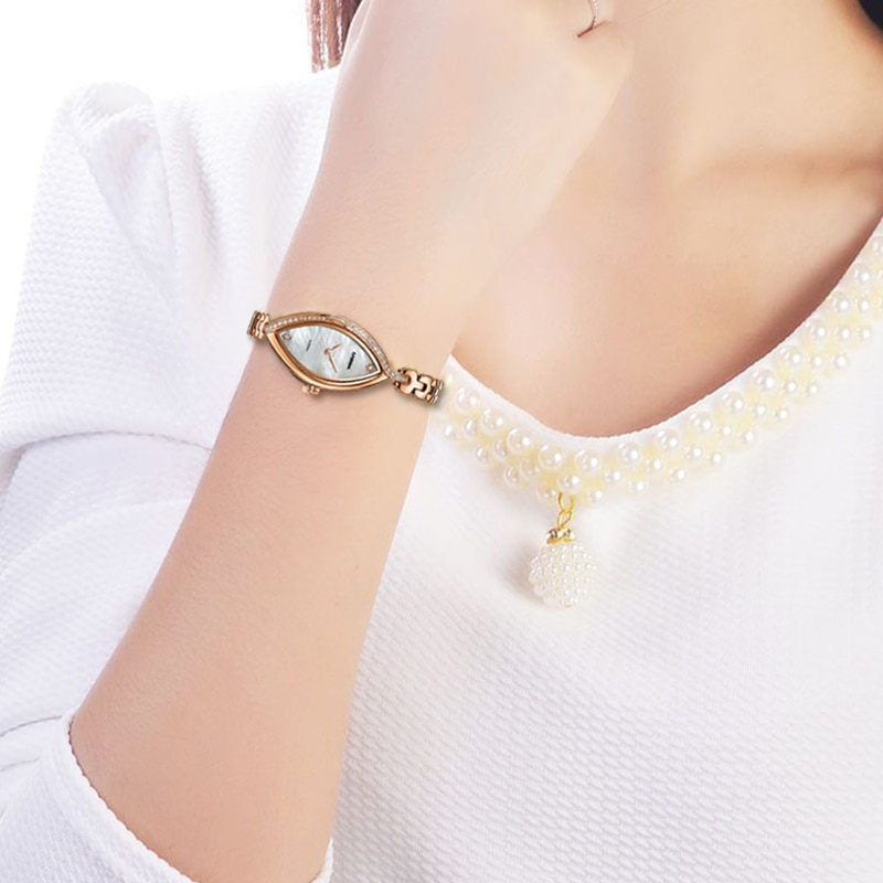 CASIMA Brand Luxury Women Watches Waterproof Fashion Casual Bracelet Quartz Ladies Wristwatch Gold Silver Clock Relogio Feminino enlarge