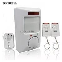 2 alarmes infrarouges telecommandees  alarme domestique  anti-cambriolage  electronique pour chien  nouveaute speciale