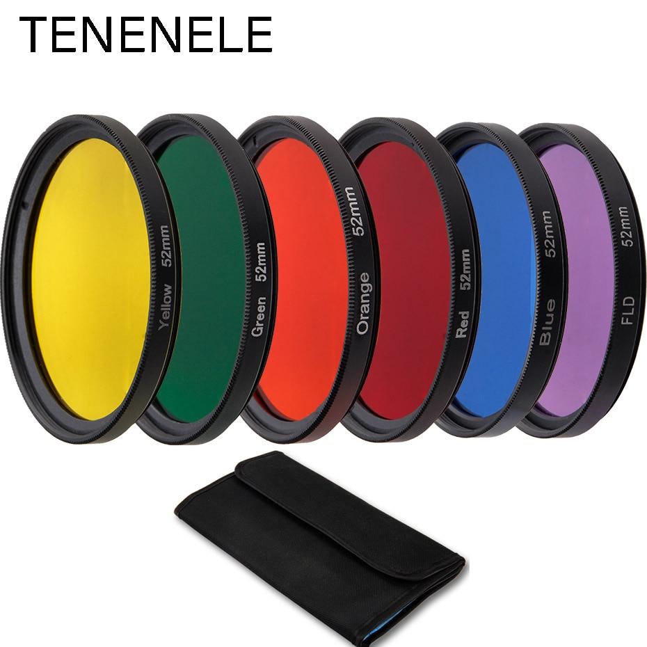 40,5mm 43mm 46mm 52mm 55mm 58mm 62mm 67mm 72mm 77mm 82mm color filtros para Canon Nikon lente de cámara Accesorios