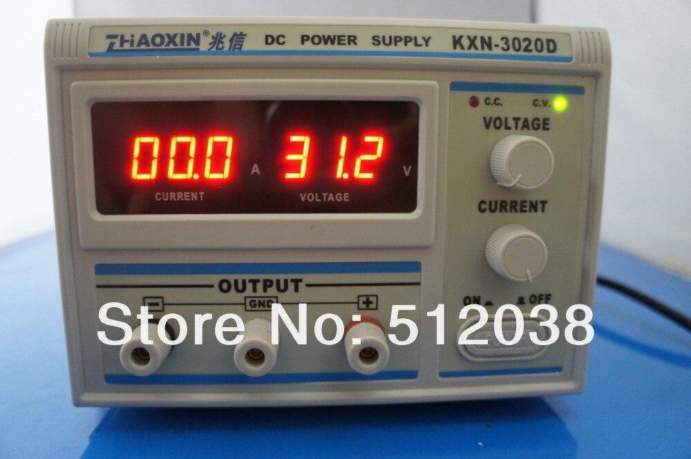 KXN-3020D LED 20a 30V, conmutación de alta potencia, fuente de alimentación CC Variable, 220V, nuevo