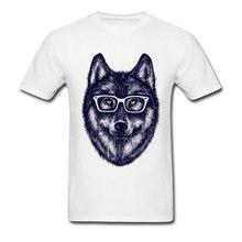 Nuevas camisetas de manga corta para hombres, camisetas Lobo estampado Bookish en diseño impresionante, camisetas de moda geniales, camisetas de verano