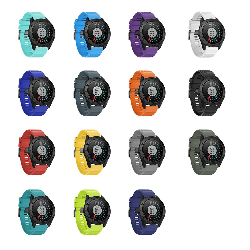 22mm Soft Smartwatch Band Watchband Replacement Smart Watch Strap Bracelet For Garmin Fenix 5 Forerunner 935 Approach S60 GDeals