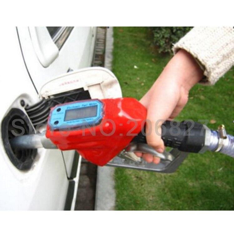 الوقود يعمل بالديزل والجازولين النفط تسليم فوهة رشاش موزع مع تدفق متر