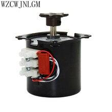 Incubadora para dar la vuelta a los huevos Motor Reversible motorreductor 220V accesorios para incubadora para la mayoría de incubadoras 2.5r/min 2 uds