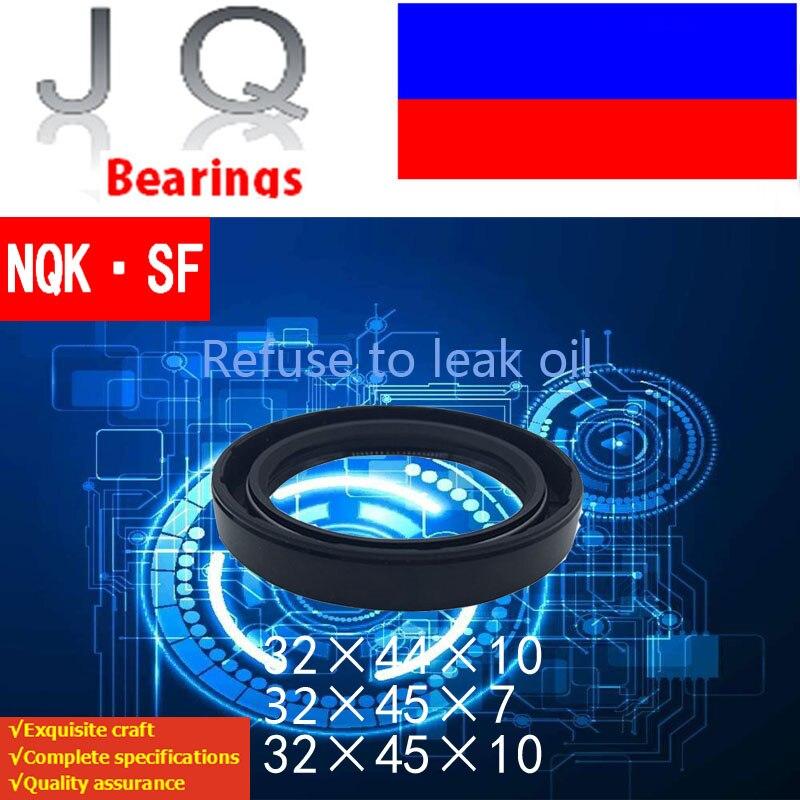 10 pces nqk tc 32x44x10 32x45x7 32x45x10 nbr 32x44x10 32x45 esqueleto óleo tc fita radial selos de eixo nbr juntas selos de óleo