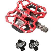 SPD MTB велосипедные клипсы набор педалей без клипов для гонок оборудование для верховой езды для Wellgo WPD-98A Shimano SH51 SH55 SH56
