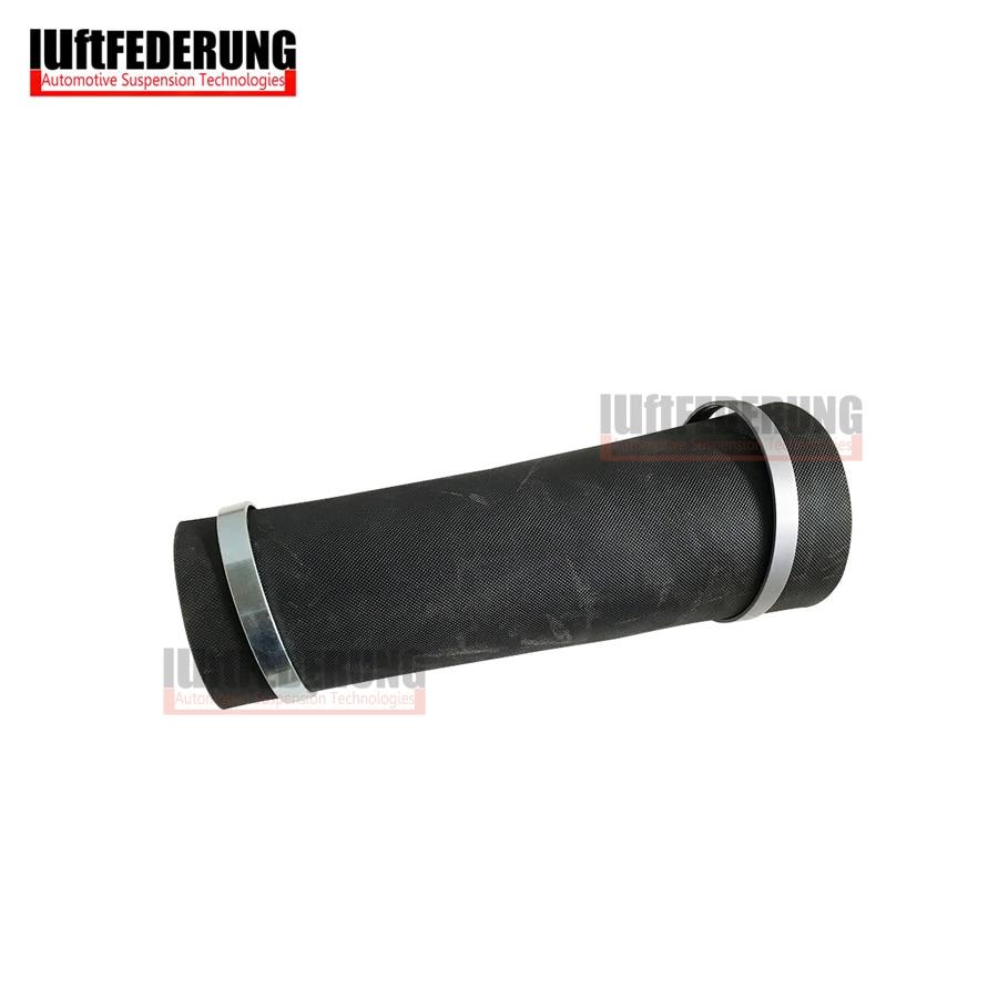 Luftfederung 1 Set abajo aire manga almohada de goma con los anillos para Mercedes W164 ML GL trasero bolsa de aire 1643200625, 1643201025