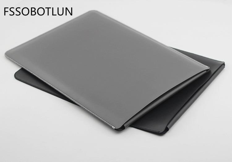 "Microfiber Leather Laptop Sleeve Case For LG gram 17 (17Z990-V.AA75C) 17"" Laptop Bag Slim Pouch Cover"