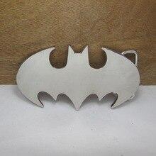 BuckleClub wholesale BATMAN film cowboy jeans gift belt buckle for men FP-02365 silver finish 4cm width loop
