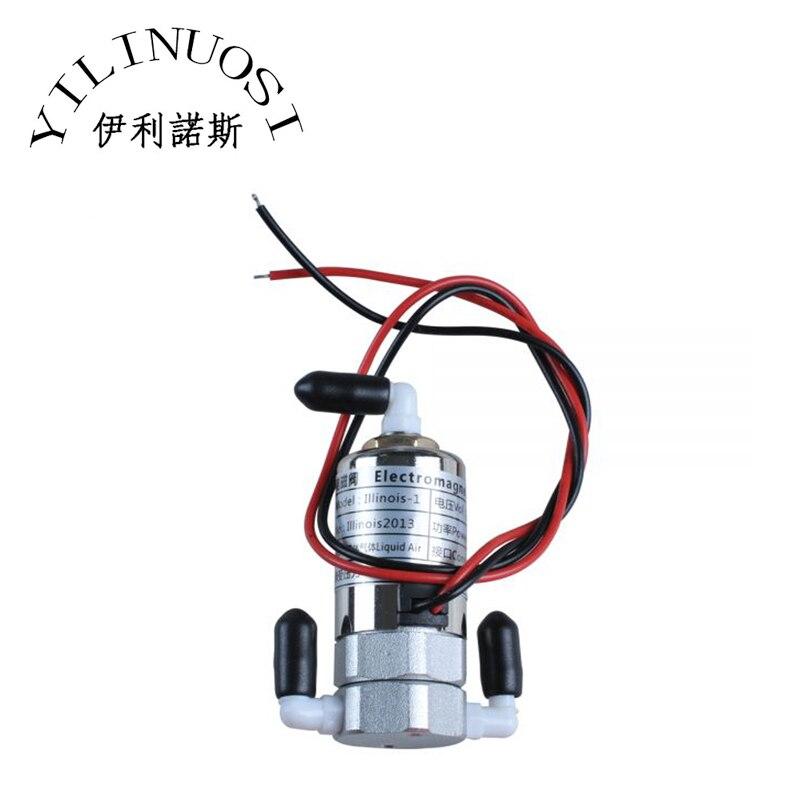 Válvula electromagnética/válvula magnética DC24V/5,5 W para impresoras Icontek