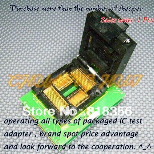 BM11172 Programmer Adapter PM-RTC005-366A IC51-1004-814-1 TQFP100 LQFP100 QFP100 Adapter/IC SOCKET/IC Test Socket
