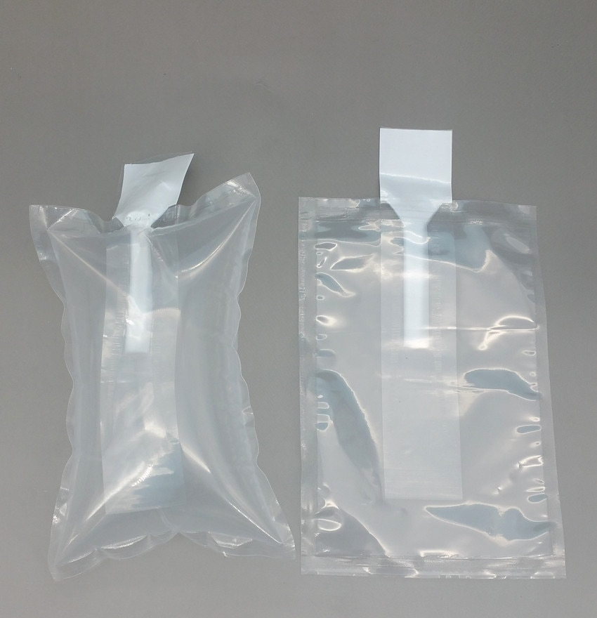 10x25cm Plastic Clear PE Protective Pump Inflatable Cushioning Buffer Packing Material Bags For Packaging Shockproof 4000pcs